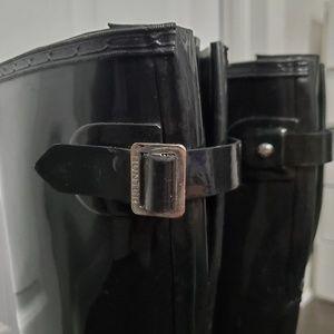 Hunter Shoes - Hunter original tall gloss adjustable rain boot